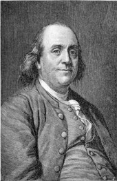 Make Benjamin Franklin Picture Quote