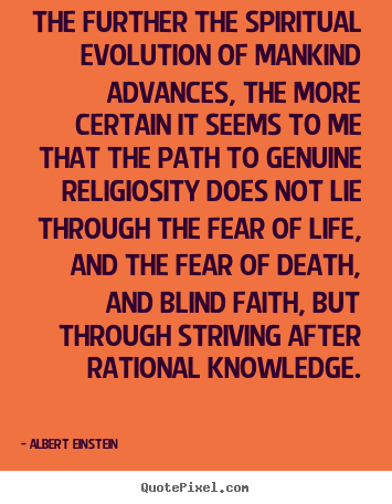 albert einstein picture quotes the further the spiritual